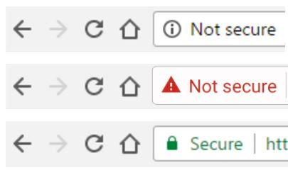 Free SSL certificate installation with Woo DSers - Example of SSL Icon - Woo DSers