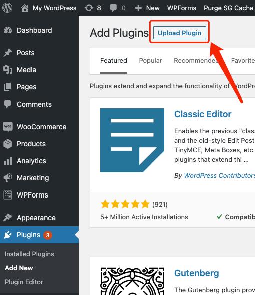 Manually install DSers on WordPress - upload plugin - Woo DSers