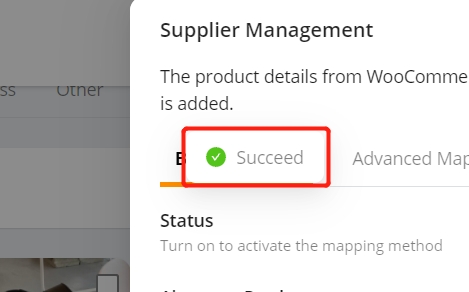 Change supplier of a WooCommerce product with Woo DSers - Notification - Woo DSers