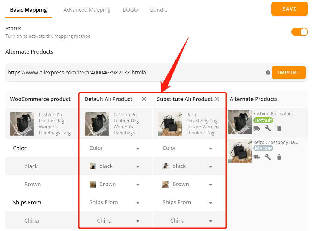 Change supplier of a WooCommerce product with Woo DSers - Multiple Suppliers - Woo DSers