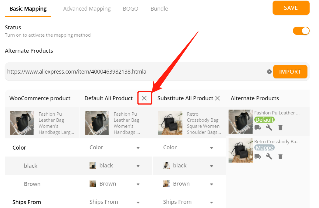 Change supplier of a WooCommerce product with Woo DSers - Change Supplier - Woo DSers