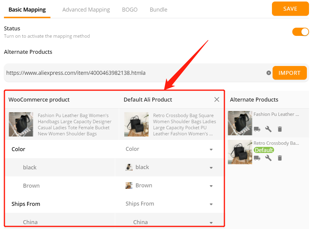 Change supplier of a WooCommerce product with Woo DSers - New Default Supplier - Woo DSers