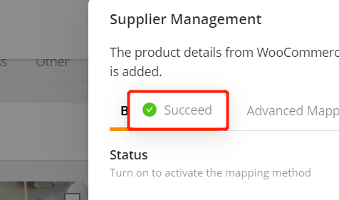 Change supplier of a WooCommerce product with Woo DSers - Success Notification - Woo DSers
