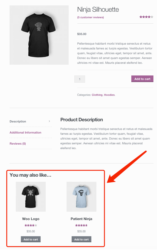 Create a product on WooCommerce with Woo DSers - Upsells Example - Woo DSers