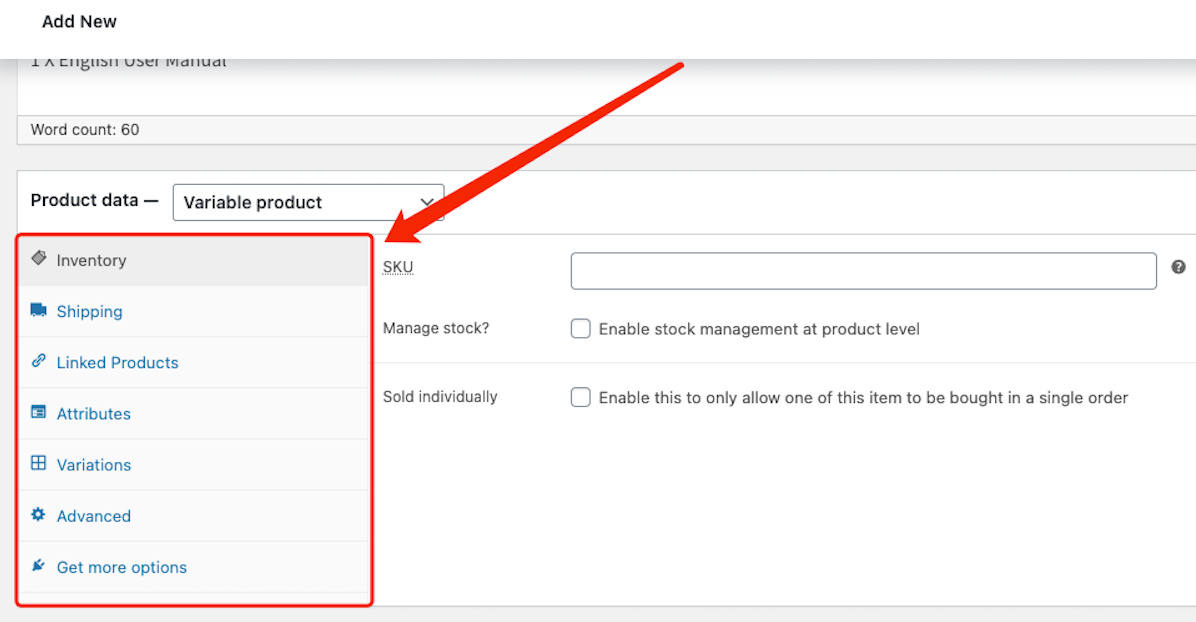 Create a product on WooCommerce with Woo DSers - Product Data - Woo DSers