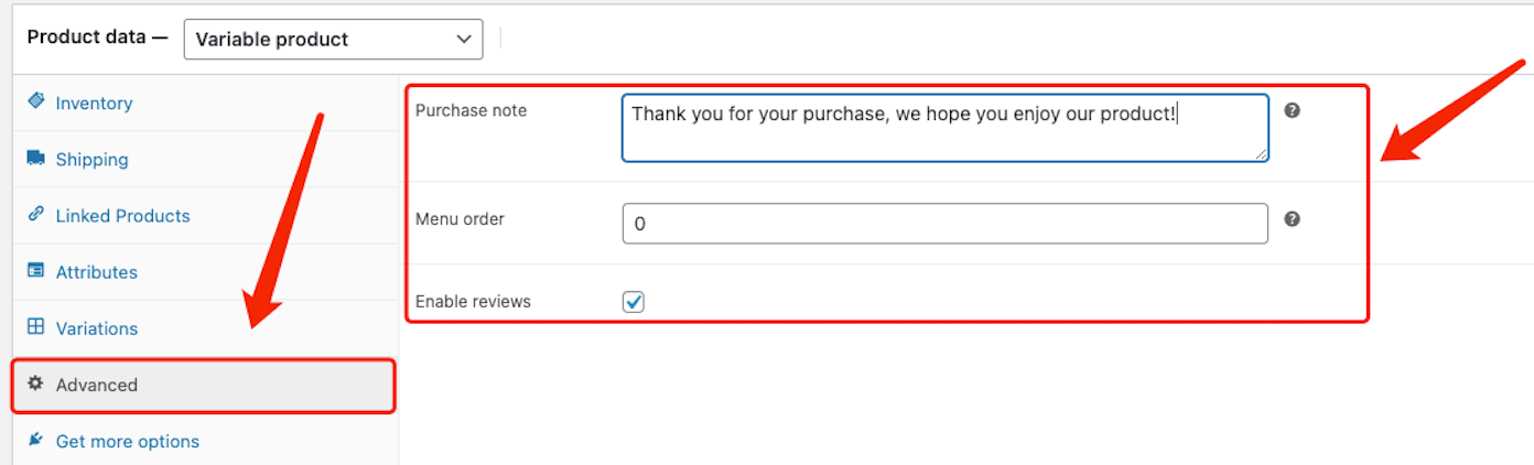 Edit a product on WooCommerce with Woo DSers - Advanced Product data - Woo DSers