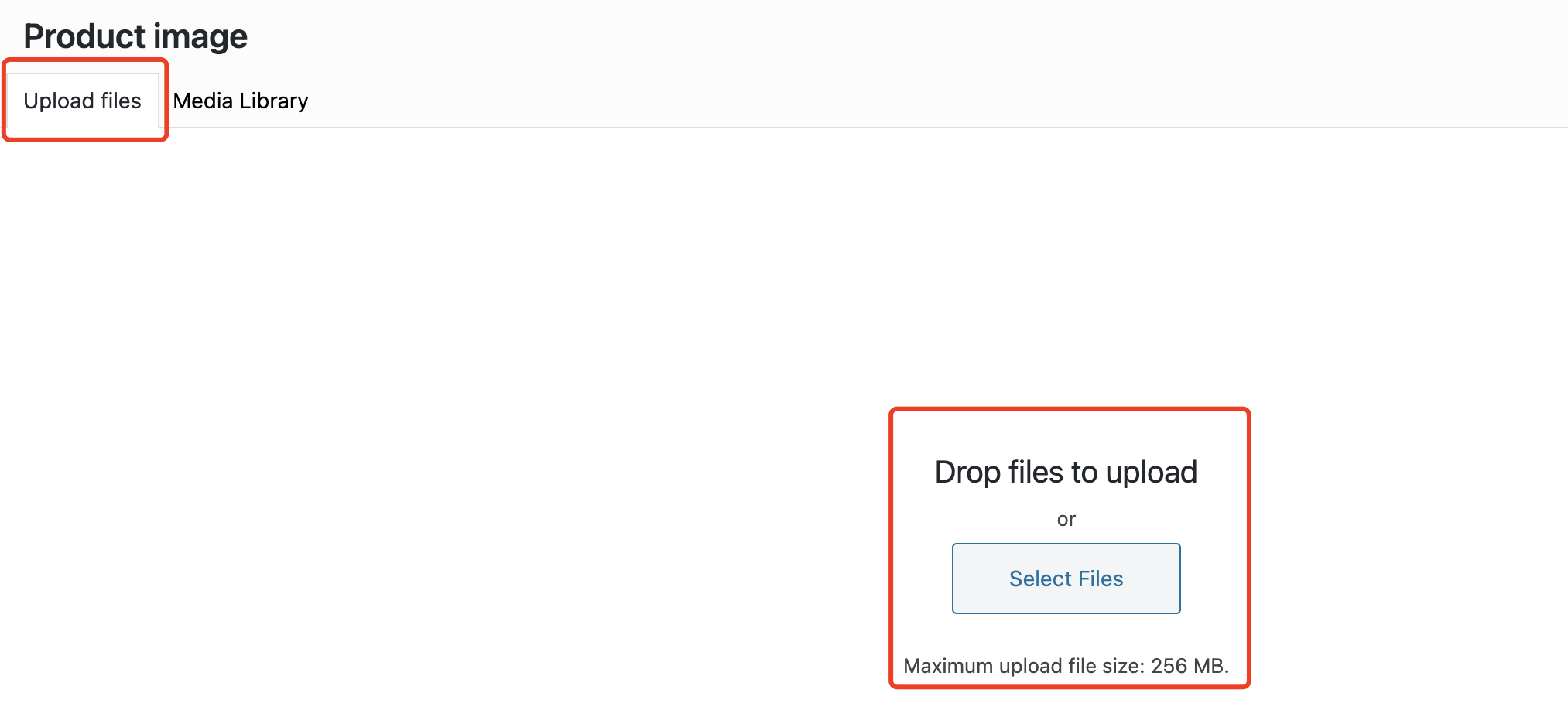 Edit a product on WooCommerce with Woo DSers - Upload files - Woo DSers